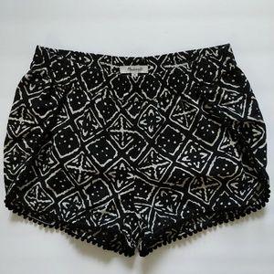 Madewell tribal print shorts sz XS